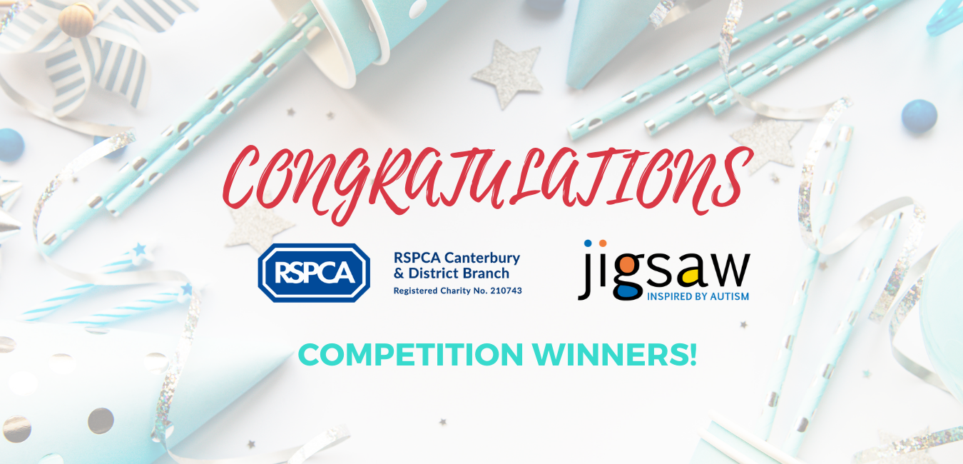 Congratulations to competition winners